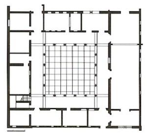 Plano de Convento e Iglesia de San Diego, Cartagena, Colombia