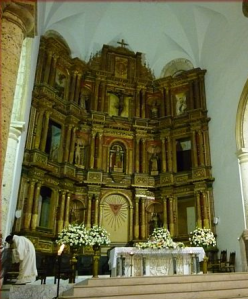 Retablo Mayor de la Catedral de Cartagena